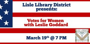 Votes for Women with Leslie Goddard