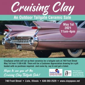 Cruising Clay: An Outdoor Tailgate Ceramic Sale