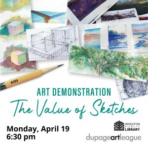 Art Demonstration: The Value of Sketches