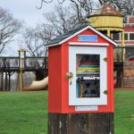 Little Library Opening and Book Drive