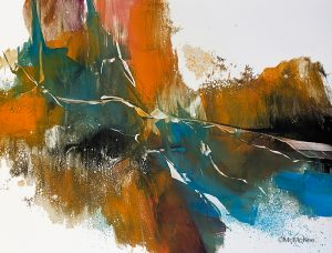 Maureen McKee features Monotypes at Gary Brown Gallery