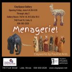 Menagerie! Clayworks by Pauline Ares