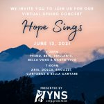 Hope Sings: Young Naperville Singers Virtual Concerts