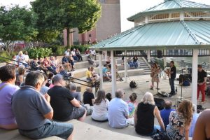 """Aurora Downtown's """"Wednesdays at the Plaza"""" with WDCB Jazz features Chris Greene Quartet"""