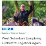 West Suburban Symphony Orchestra Concert