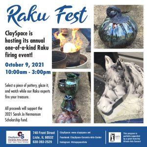 Clayspace Ceramics Art Center Raku Fest 2021