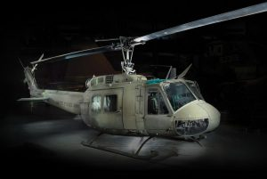 """UH-1 """"HUEY"""" Helicopter Returns to Cantigny"""