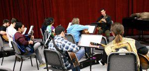 College Music Guitar Ensemble