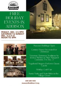 Free Holiday Events in Addison